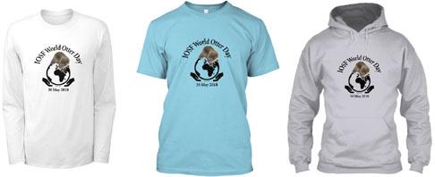 2018-World Otter Day t-shirts